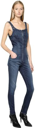 Cotton Denim Jumpsuit $352 thestylecure.com