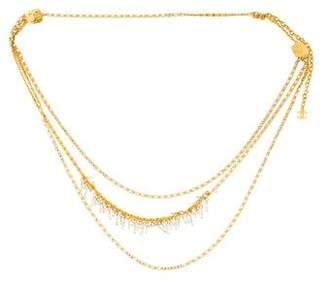 Chanel Crystal-Embellished Chain-Link Belt
