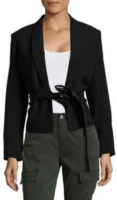 Helmut Lang Short Belted Jacket