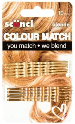 Scunci Colour Match Wavy Blonde Bobby 10S