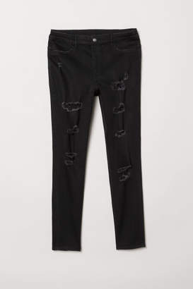 H&M H&M+ Skinny High Waist Jeans - Black