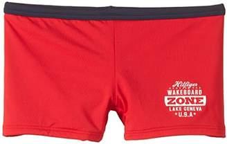 Tommy Hilfiger Boy's SOLID SPEEDER Plain Swim Trunks,(Manufacturer Size: 16)