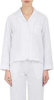 Castle & Hammock Women's Striped Cotton Gauze Pajama Top