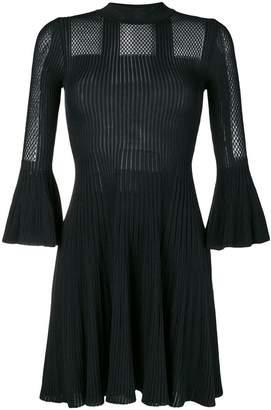 Versace short-sleeve knitted dress