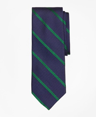 Brooks Brothers Textured Bar Stripe Tie