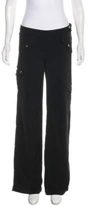 Versace Low-Rise Wide-Leg Pants