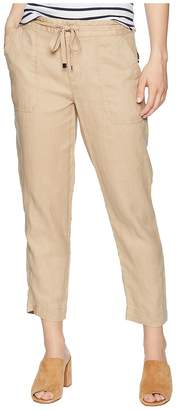 Lauren Ralph Lauren Petite Straight Linen Pants Women's Casual Pants