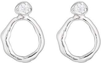 VIOLA.Y JEWELRY Women's Cubic Zirconia Stud Earrings