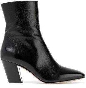 IRO Textured-Leather Ankle Boots