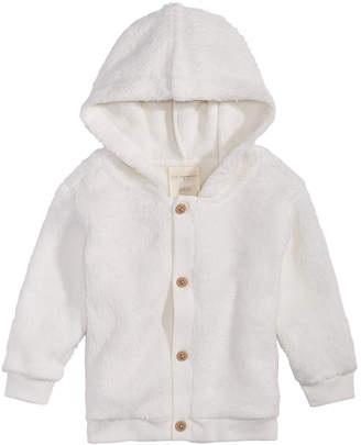 First Impressions Baby Boys or Baby Girls Fleece Hooded Jacket, Created for Macy's