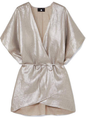 SU Paris - Kana Metallic Linen Wrap