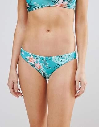 Seafolly Floral Print Hipster Bikini Bottom
