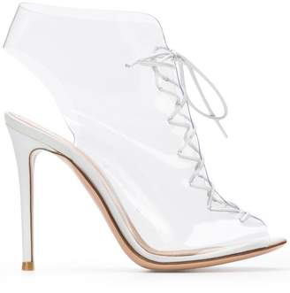 Gianvito Rossi transparent boots