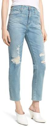 AG Jeans 'The Phoebe' Vintage High Rise Straight Leg Jeans
