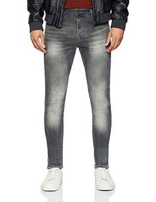 GUESS Men's Chris Slim Jeans, Grey UCLA, (Size: )