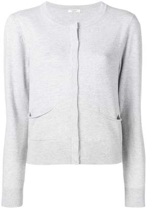 Peserico concealed button cardigan