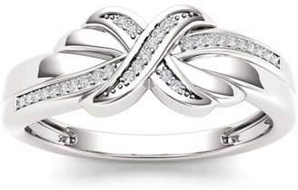 Imperial Diamond Imperial 1/10 Carat T.W. Diamond 10kt White Gold Fashion Ring