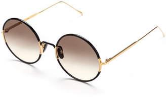 Sunday Somewhere Yetti Round Acetate & Titanium Sunglasses