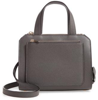 Valextra Mini Passepartout Leather Satchel