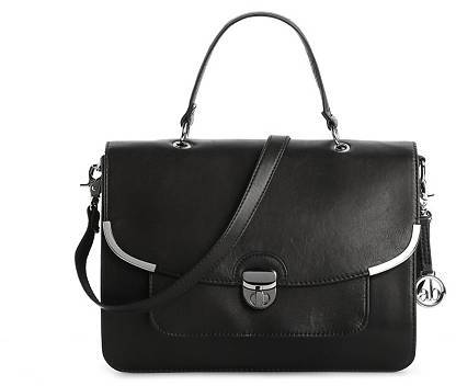 Audrey Brooke Kacey Leather Convertible Satchel