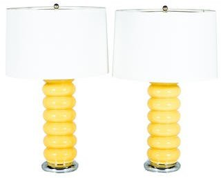 Pair of Ceramic Table Lamps