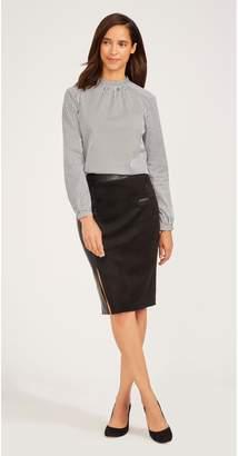 J.Mclaughlin Naomi Faux Suede Skirt