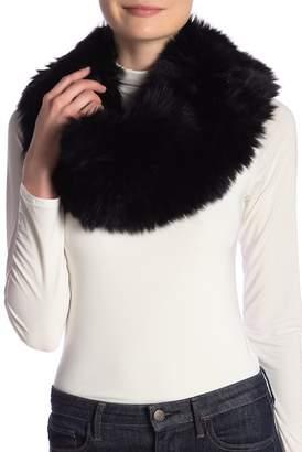 Theory Genuine Blue Fox Fur Scarf