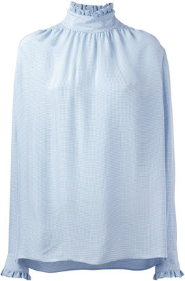 Gucci Cambridge blouse $790 thestylecure.com