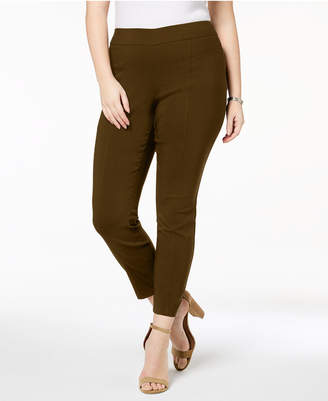 Style&Co. Style & Co Plus Size Skinny Seamed Pull-On Pants, Created for Macy's