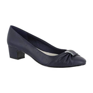 Easy Street Shoes Womens Eloise Pumps Slip-on Round Toe Block Heel
