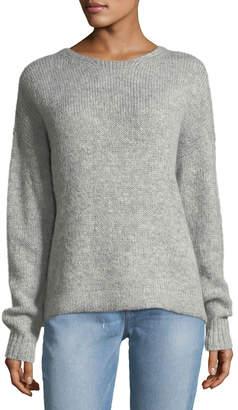 KENDALL + KYLIE Tie-Back Alpaca-Blend Sweater