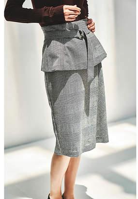 Epoca (エポカ) - エポカ ザ ショップ 【KYOKO KAMExEPOCA THE SHOP】グレンチェックタイトラップスカート