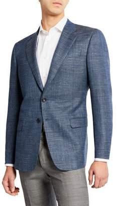 Giorgio Armani Men's Melange Wool/Linen Sport Coat