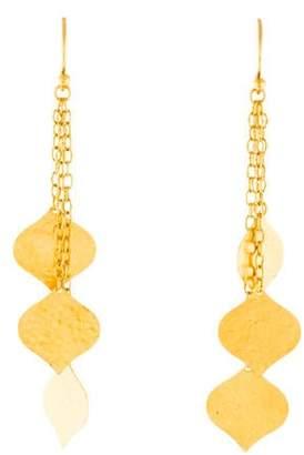 Gurhan 24K Clove Triple Drop Earrings