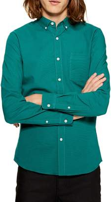 Topman Classic Fit Oxford Shirt