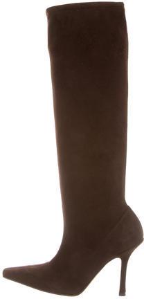 Jimmy ChooJimmy Choo Suede Knee-High Boots