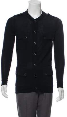 3.1 Phillip Lim Woven Button-Up Cardigan