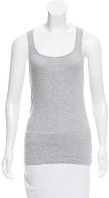 Adam Rib Knit Sleeveless Top