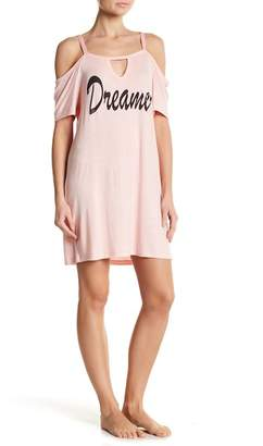 Couture Curvy Dreamer Cold Shoulder Night Gown