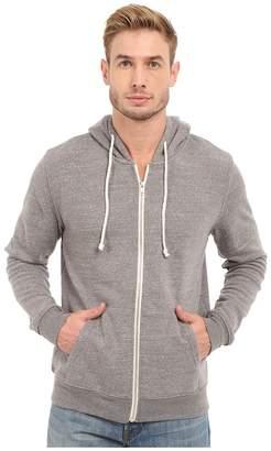 Threads 4 Thought Triblend Zip Front Hoodie Men's Sweatshirt