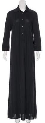 Maison Margiela Silk Blend Shirt Dress