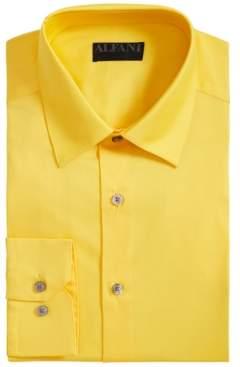 d6bade889 Alfani AlfaTech by Men s Solid Athletic Fit Dress Shirt