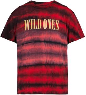 Amiri Wild Ones tie-dye cotton T-shirt