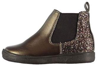 Miso Kids Girls Lola Infants Chelsea Boots Glitter