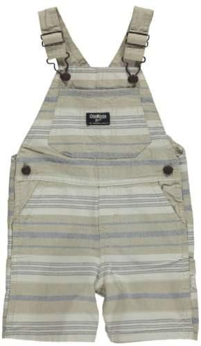 OshKosh B'gosh Baby Clothing Outfit Boys Striped Shortalls