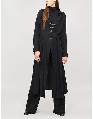 Ann Demeulemeester Loose-fit woven shirt dress