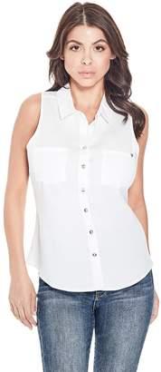 Brixton Guess Factory Women's Sleeveless Shirt