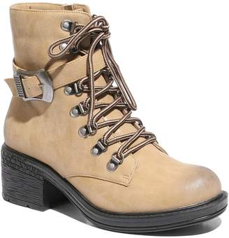 ea3d6cbc642a at Kohl s · 2 Lips Too Randy Women s Lace-Up Ankle Boots