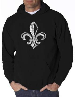 Pop Culture Men's hooded sweatshirt - lyrics to when the saints go marching in