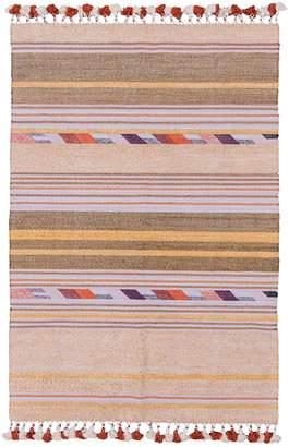Amigos De Hoy Hand Woven Flip Rug, Lilac, 130x200cm